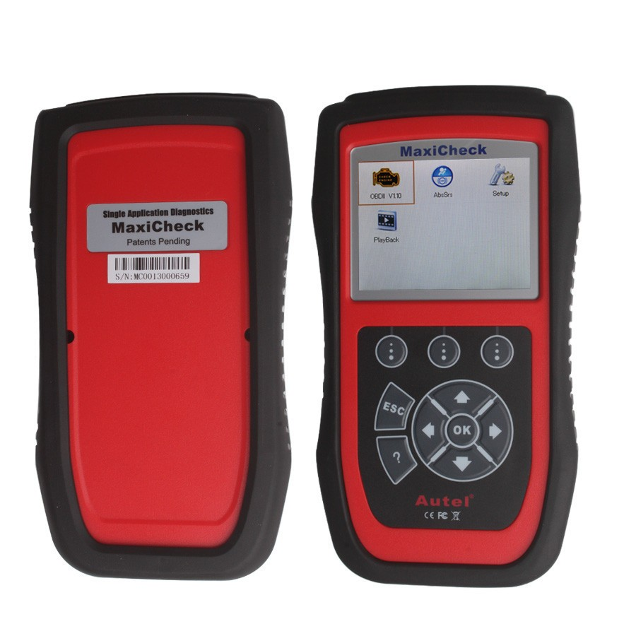 Autel MaxiCheck Airbag/ABS SRS Car Light Service Reset Tool